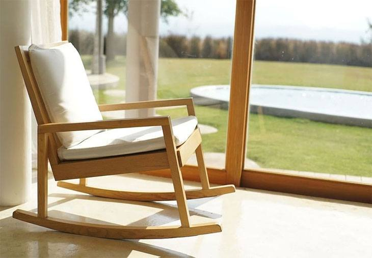 best indoor wooden rocking chair
