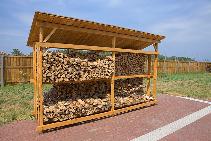 best firewood rack outdoor