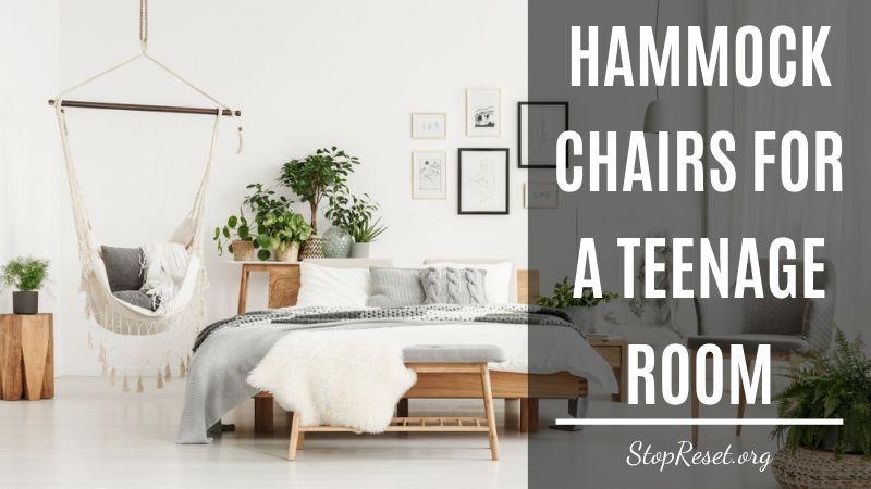 Hammock Chairs for a Teenage Room