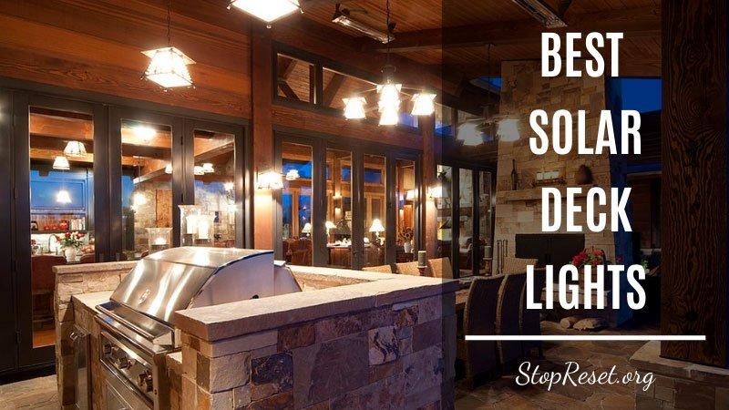best solar deck lights